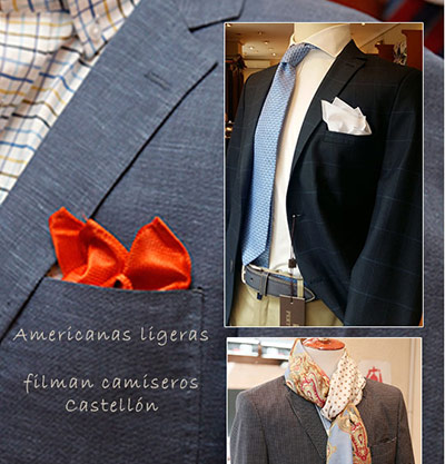 Americanas y blazers cómodas, ligeras y frescas
