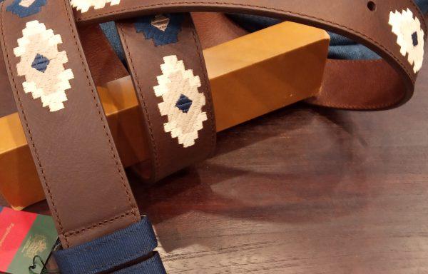 cinturón leyva piel marrón
