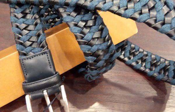 cinturón elástico piel