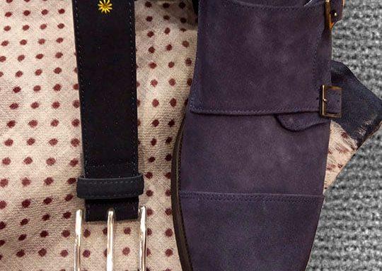 Zapato serraje modelo double monk